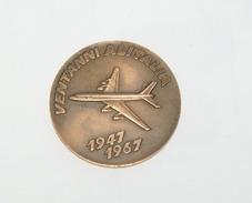 MEDAGLIONE VENTENNALE ALITALIA, 1947-1967 - Recordatorios