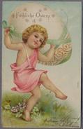 ANGEL  Angelots   Cherub   1904y.   A857 - Angeli