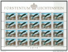 Liechtenstein 1979 Michel #723/24 MNH/Luxe 2 Klb. Europa-CEPT