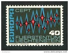 Liechtenstein 1972. Michel #564 MNH/Luxe. Europa-CEPT