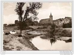 TINTIGNY ..--  L´ Eglise Et Le Pont Sur La Semois . 1964 De ANSART Vers BRUXELLES . Voir Texte Verso . - Tintigny
