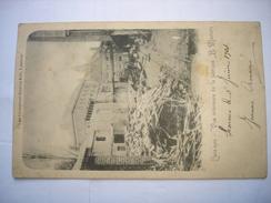 RARE CPA !! LESSINES -VUE INTERIEURE DE LA FABRIQUE MERTENS ( 1903 )