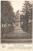 Huy - La Statue De Pierre L'Ermite, à L'ancienne Abbaye De Neufmoustier - Ed. Desaix - Hoei