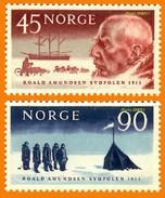 POLAIRE Norvège **LUXE 1961 P 419 Et 420 Paire - Ungebraucht