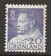 004015 Greenland 1963 20o FU - Greenland