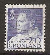 004015 Greenland 1963 20o FU - Used Stamps