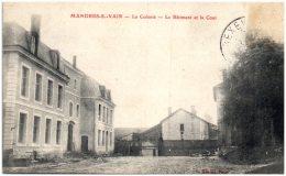 88 MANDRES-sur-VAIR - La Colonie - Le Batiment Et La Cour    (Recto/Verso) - Autres Communes