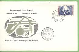1961 Obp 1063 - E. Ysaye - Trompet - Jazz Festival Comblain La Tour - By Joe Napoli -  Muziek Music Musique Musik - Belgium