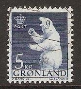 004017 Greenland 1963 5K FU - Greenland