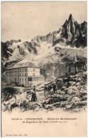 88 CHAMONIX - Hotel Du Mntanvert Et Aiguilles Du Dru  (Recto/Verso) - Chamonix-Mont-Blanc