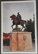 Macedonia, Skopje, Monument, Skenderbeg - Macedonia