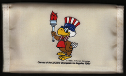 United States 1984 / Olympic Games Los Angeles / Bag Wallet / Torch / USA Sam The Eagle - Apparel, Souvenirs & Other