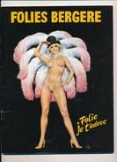 Revue Des Folies Bergère  Folie Je T' Adore - Theatre