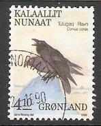 004041 Greenland 1988 Birds 4K10 FU - Groenlandia