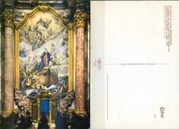 Ak Deutschland - Klosterkirche Weltenburg  - Gemälde - Ankunft Christoph Kolumbus In Amerika - Santa Maria - Pinturas, Vidrieras Y Estatuas