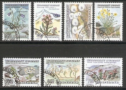 004051 Greenland 1990 Flowers Set FU - Greenland