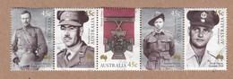 Australia 2000 - Centenary Of Australia´s First Victoria Cross -Postally Used Strip 5
