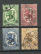 FINLAND FINNLAND 1919 Michel 103 - 106 O