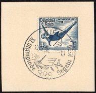 GERMANY KIEL 13/08/1936 - OLYMPIC GAMES BERLIN 1936 - SAILING - FRAGMENT