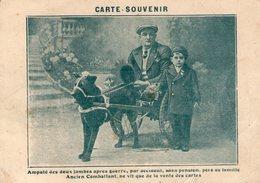 (19) CPA Voiture A Chien Ancien Combattant Vit Que De La Vente Des Cartes  (bon Etat) - Cartoline