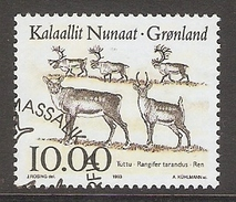 004068 Greenland 1993 Animals 10K FU - Greenland