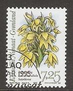 004070 Greenland 1995 Orchids 7K25 FU - Greenland