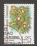 004071 Greenland 1996 Orchids 4K25 FU - Greenland