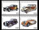 Liechtenstein 2014 Mih. 1726/29 Saloon Cars MNH ** - Liechtenstein