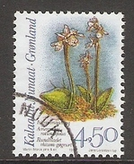 004072 Greenland 1996 Orchids 4K50 FU - Groenlandia