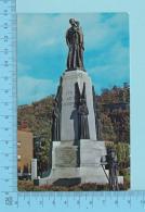 Montreal Quebec - Statue De Saint Joseph, Devant L'oratoire-cartes Postale Post Card - 2 Scans - Monuments