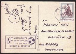 Austria Modling 1974 / ISF Wettkämpfe Der Schüler / Football / World Schools Championship - Otros