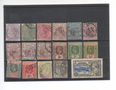 (n24) ILE MAURICE 17 Anciens Timbres - Maurice (...-1967)