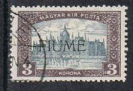 Fiume SG18 1918 Definitive 3k Fine Used FILLER [12/12589/7D] - 8. WW I Occupation