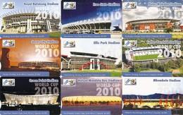 *SUDAFRICA - FIFA WORLD CUP 2010* - Serie Completa Usata - Afrique Du Sud