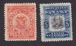 Panama, Scott #188-189, Used, Arms, Arosemena, Issued 1906 - Panama