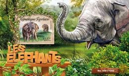 TOGO 2016 SHEET ELEFANTES ELEPHANTS ELEFANTEN ELEFANTI WILDLIFE Tg16207b - Togo (1960-...)