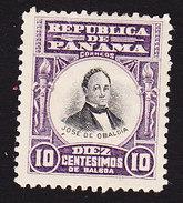 Panama, Scott #191, Mint Hinged, Obaldia, Issued 1906 - Panama