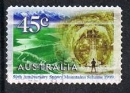Australia SG1894 1999 Snowy Mountain Scheme 45c Good/fine Used [12/12247/6D] - 1990-99 Elizabeth II