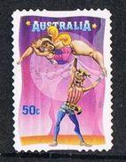 Australia SG2826 2007 Circus 50c Good/fine Used [12/12252/6D]