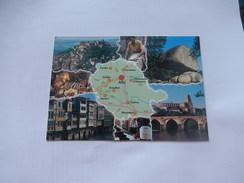 Dep 81 Tarn Albi  ' Carte Departement  Geographique ' Multivues( - Albi