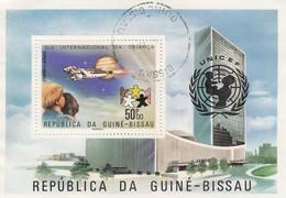 REPUBLICA DA GUINE-BISSAU - BLOC UNICEF  / OBLITERATION BISSAU  / 6135