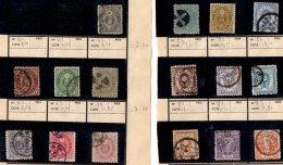 JAPON - Lot Entre 1876 Et 1948 - 4 Scans - Japon