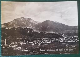OSOPPO (UDINE) - PANORAMA DEL PAESE E DEL FORTE - Udine