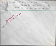 SOBRE ESPERANTO IDIOMA INTERNACIONAL CURSOS POR CORRESPONDENCIA DR. L. L. ZAMENHOF AUTOR DEL IDIOMA IMPRESO - Esperanto