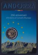 2014 ANDORRA - INGRESSO CONSIGLIO EUROPEO (2 EURO FDC / FOLDER) - Andorra