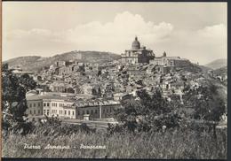 °°° 4969 - PIAZZA ARMERINA - PANORAMA CON FERROVIA (EN) 1963 °°° - Italia