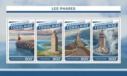 TOGO 2016 SHEET LIGHTHOUSES PHARES FAROS FARI FAROIS Tg16518a - Togo (1960-...)