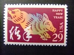 ESTADOS UNIDOS Etats-Unis D´Amerique 1995 Nuevo Año Chino Año Del Cerdo  Yvert 2323 ** MNH - Etats-Unis