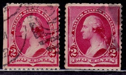 United States, USA, 1890, Washington, 2c, Scott# 219/220, Used - Usati