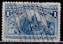 United States, USA, 1893, Columbian Exposition, 1c, Scott# 230, Used - 1847-99 Unionsausgaben